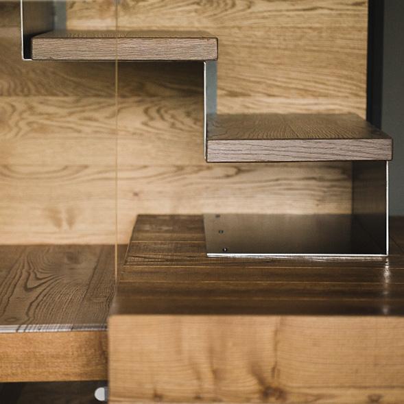 Scale in legno Valcamonica