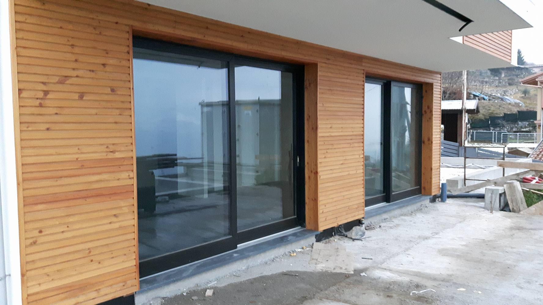 Rivestimento Casa In Legno rivestimento pareti esterne realizzate con doghe in legno di